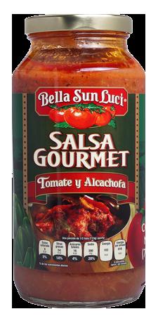 Salsa Gourmet Tomate Y Alcachofa