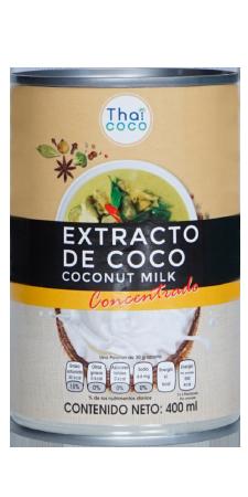 Extracto de coco (concentrado)